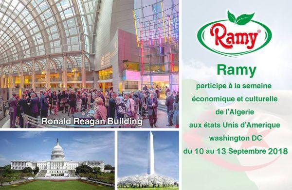 Ramy présent à la semaine économique et culturelle de l'Algérie à Washington.