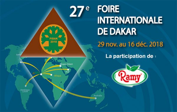 Le groupe Ramy à la Foire Internationale de Dakar « Fidak »