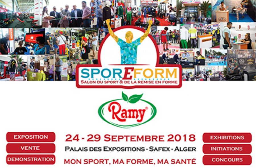 Ramy, sponsor of the sporEform 2018 show.