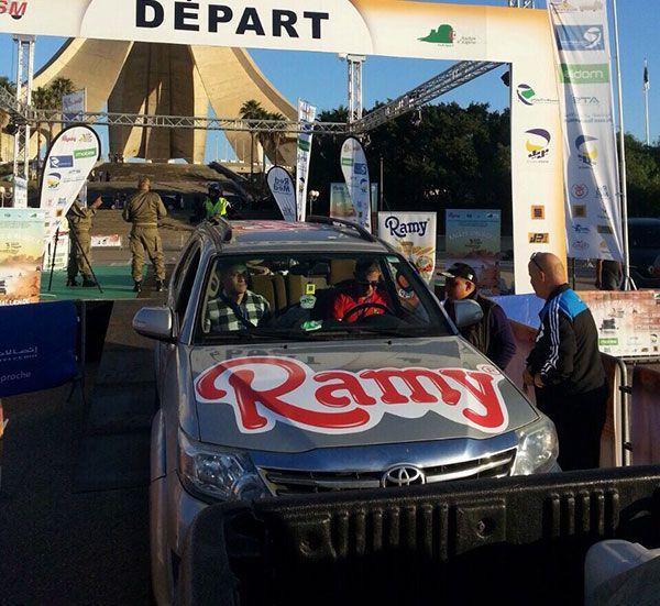 "Ramy sponsor officiel du Rallye ""Challenge SAHARI International"" 2016"