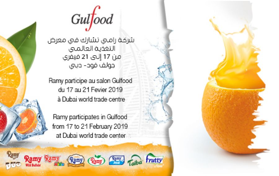 Le groupe Ramy au GULFOOD 2019.