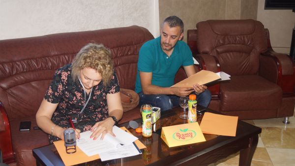 """Ramy signs a partnership agreement with the circus """"Citta Di Roma"""""""
