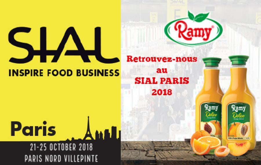 Le groupe Ramy dévoile ses produits au SIAL 2018.
