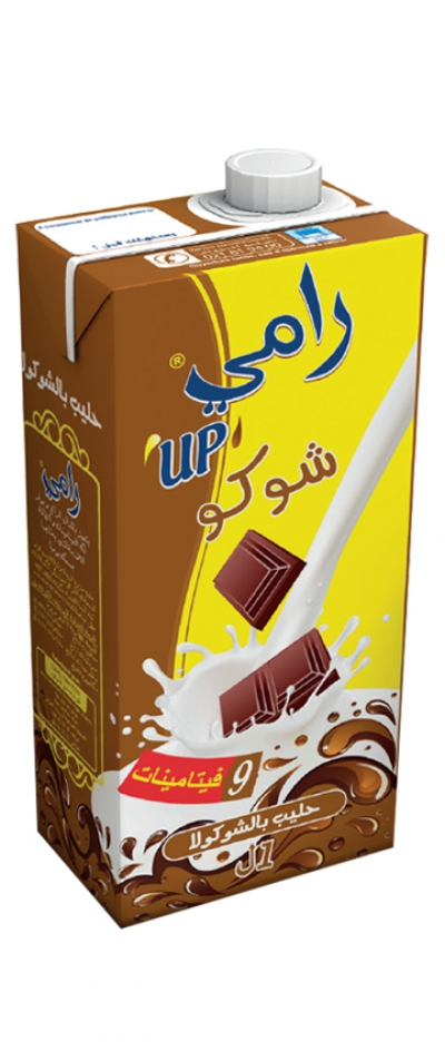 RAMY UP chocolate milk