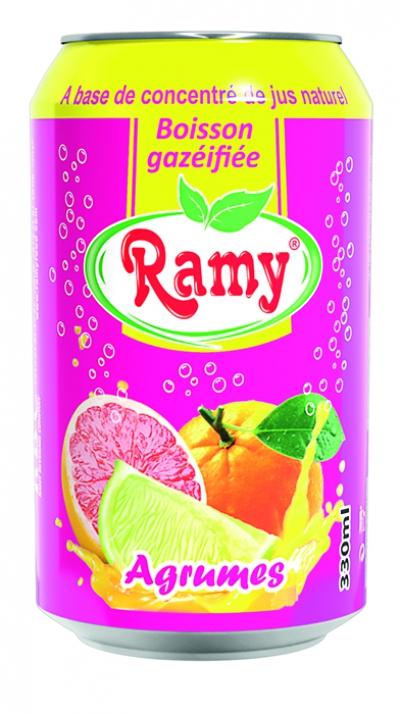 Ramy Boisson gazéifié Canette